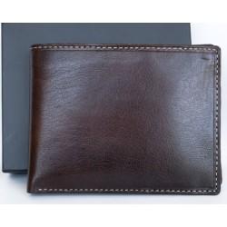 Luxusní kožená peněženka s důmyslným designem