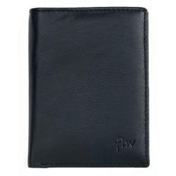 Kožená peněženka z nejkvalitnější kůže s nappa úpravou s vyjímatelnou dokladovkou