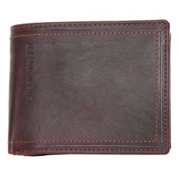 Celokožená peněženka Green Valley z přírodní pevné kůže