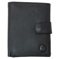 Kožená peněženka HL kvalitní s upínkou