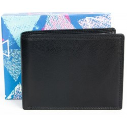 Kvalitní peněženka z měkké kůže bez značek a nápisů