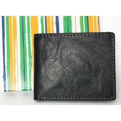 Malá kožená kapesní peněženka