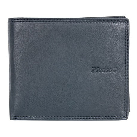 Kožená peněženka Picasso s místem na 18 karet napříč