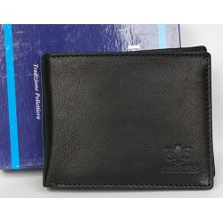 Kožená peněženka Emporio Luigi Benetton z příjemné měkké kůže