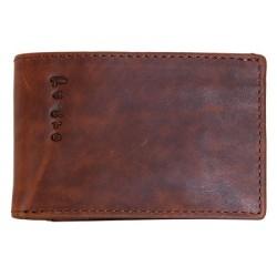 Pánská celokožená maličká kapesní peněženka z přírodní kůže
