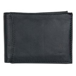 Celá kožená peněženka bez značek a nápisů