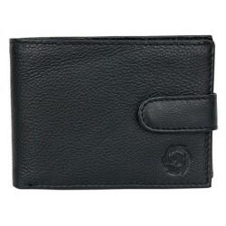 Celá kožená peněženka HL s upínkou