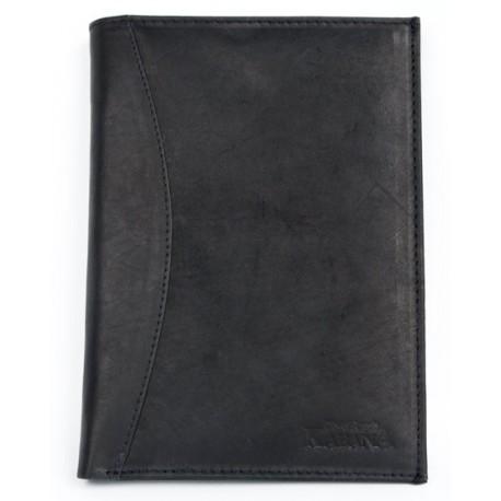 Kožené pouzdro na cestovní pas a jiné doklady.