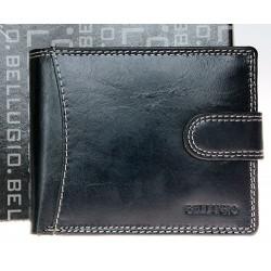 Kožená peněženka Bellugio se sponou
