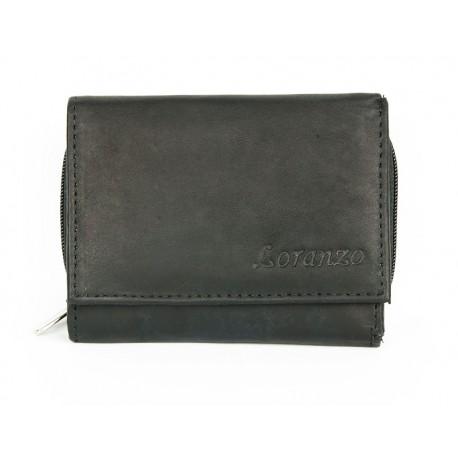 Malá kapesní peněženka Loranzo s kapsičkou na mince na zip