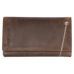 Celá kožená peněženka Green Valley ze silné přírodní kůže