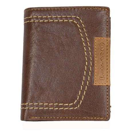 Celokožená kapesní peněženka Lozano