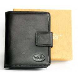 Černá dámská kožená peněženka Toscanino
