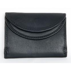 Černá kapesní maličká peněženka