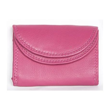 Růžová kapesní maličká peněženka