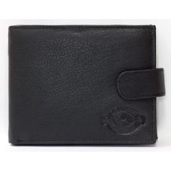 Kožená peněženka pánská kvalitní bez kapsičky na mince, s množstvím přihrádek