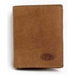 Celá kožená peněženka WILD z velmi pevné kůže