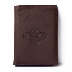 Kožená peněženka Ricardo s vyjímatelnou dokladovkou
