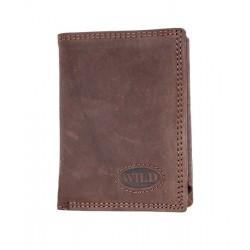 Pánská celá kožená malá kapesní peněženka