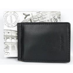 Luxusní kožená peněženka - dolarka Barberini's z příjemné měkké kůže