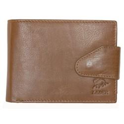 Velmi kvalitní světle hnědá kožená peněženka Bull Leder