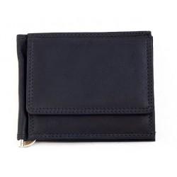 Kožená kvalitní peněženka - dolarka s kapsičkou na mince