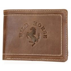 Celá kožená peněženka Wild Horse z pevné hovězí kůže