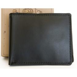 Kožená peněženka s praktickým uspořádáním