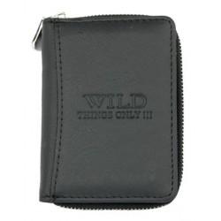 Pánská malá kapesní peněženka Wild s kapsičkou na mince na zip