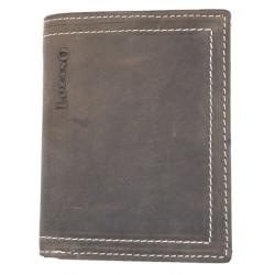 Kožená peněženka Lozano z pevné hovězí kůže