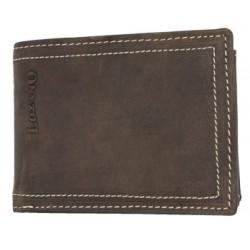 Kožená malá kapesní peněženka Lozano