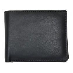 Kožená peněženka s rozvírací kapsičkou na mince z nejkvalitnější jemné kůže