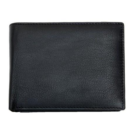 Kožená peněženka z kvalitní luxusní kůže se zajímavým uspořádáním