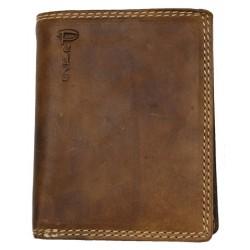 Celá kožená peněženka Pedro z pevné hlazené hovězí kůže